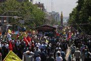 گزارشی از راهپیمایی بزرگ روز قدس