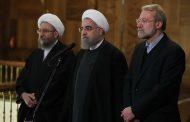 برگزاری مراسم وداع با شهدای حادثه تروریستی در مجلس