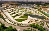 احداث ۱۰ هزار متر مربع بام سبز در باغ کتاب تهران