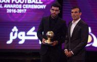 طارمی مرد سال فوتبال ایران شد