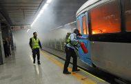 اسیدپاشی در مترو