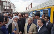 قطار همدان به مشهد حرکت کرد