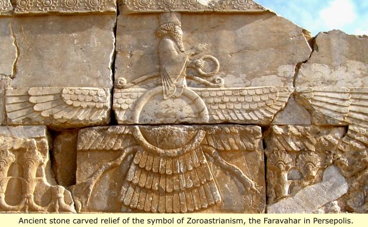 جمشید پادشاه زمان و مکان است اما خدا نیست