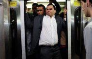 رونالدو در مترو تهران