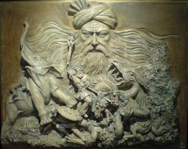 مسکوب از منابع شاهنامه فردوسی میگوید