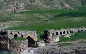 پل گاومیشان لرستان شاهکار معماری روی آب