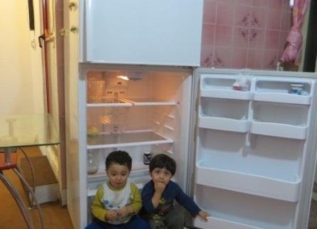 یخچال خالی کم تحرکی را دور میزند