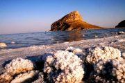 کاهش ۲۲ سانتیمتری سطح تراز دریاچه ارومیه