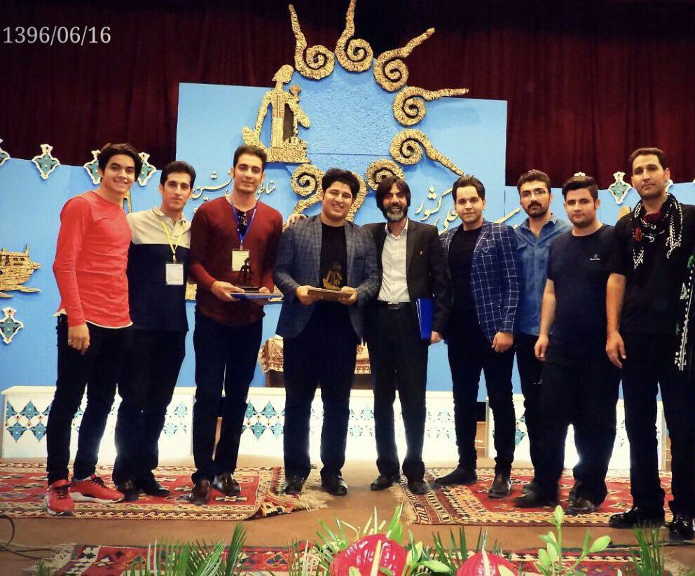 مقام نخست گروه بهارباد در جشنواره ملی موسیقی زاگرسنشینان