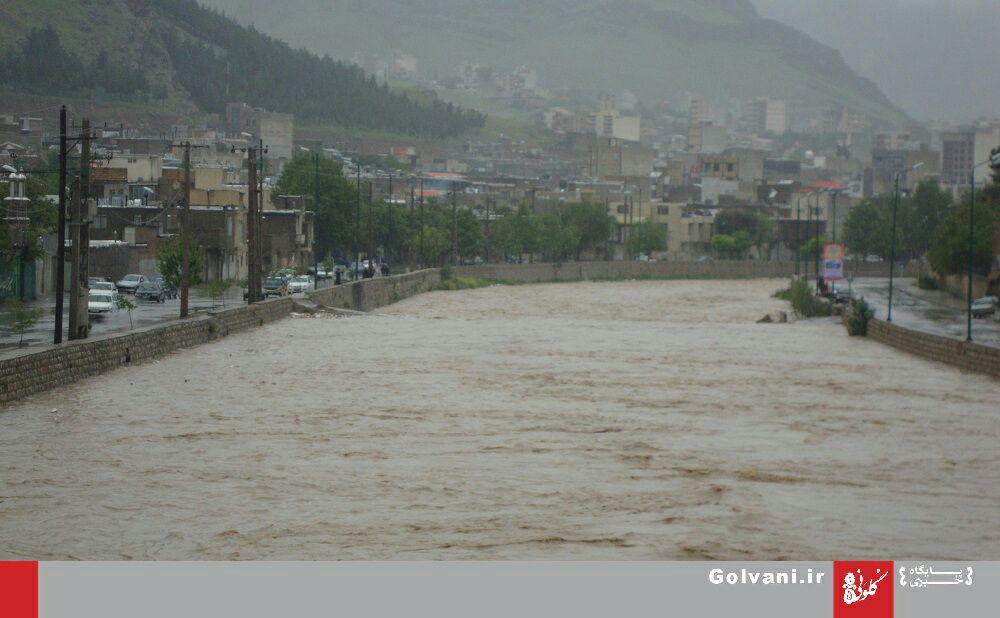 خرمآباد برای بارندگی و سیل آماده نیست