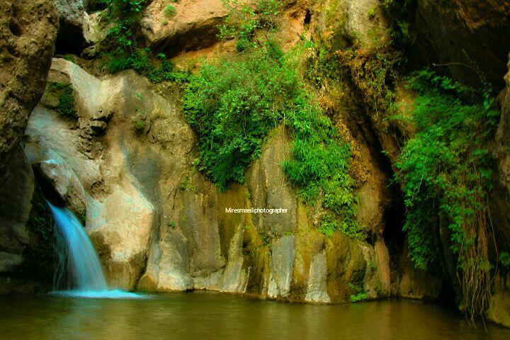 گزارش تصویری از آبشار طلایی خرمآباد - گلونی
