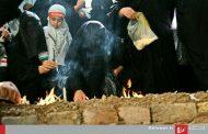 زنان و دختران خرمآبادی آیین چهل منبر را برگزار کردند