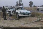 ۱۰ کشته و مجروح درتصادف محور کوهدشت - کرمانشاه