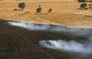 برخورد با آتشزنهای اراضی کشاورزی در خرمآباد
