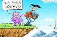 بیکاری در ایران به تفکیک مرد و زن