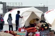 پانصد دوش حمام صحرایی در نقاط زلزلهزده نصب میشود