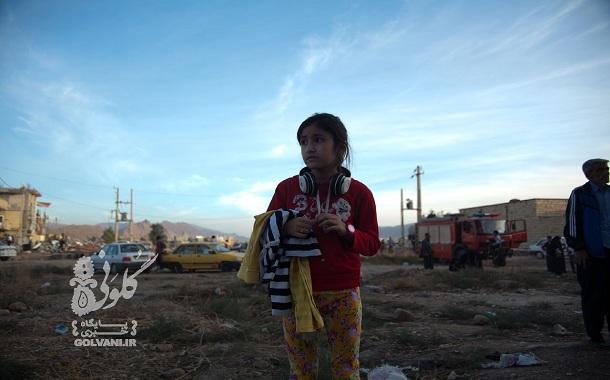 زندگی کودکان پس از زمینلرزه کرمانشاه + عکس