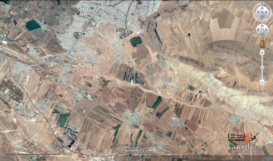 قصور مدیریت شهری در مورد حریم شهر خرمآباد