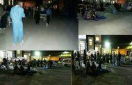 مردم وحشتزده در خیابان و شبکههای استانی در خواب