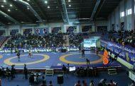 تصاویر و نتایج روز نخست مسابقات کشتی قهرمانی کشور در خرمآباد