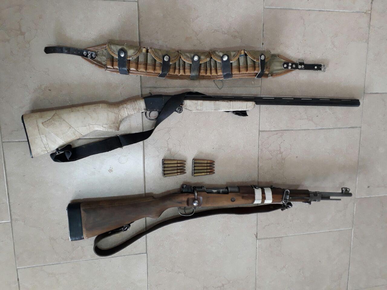 دستگیری شکارچیان متخلف در شهرستان آوج
