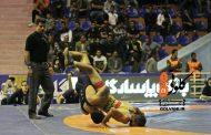 پایان رقابتهای کشتی بزرگسالان قهرمانی کشور در خرمآباد + عکس
