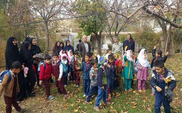 بازدید کودکان از منطقه حفاظت شده باشگل