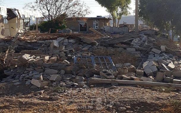گزارش تصویری از امدادرسانی به حادثهدیدگان زمینلرزه