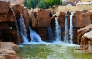 افرینه متفاوتترین آبشار لرستان + عکس
