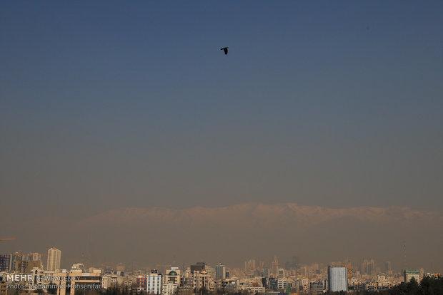 پایتخت لب مرز آلودگی