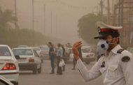 گرد و غبار در اهواز به ۴۶ برابر حد مجاز رسید