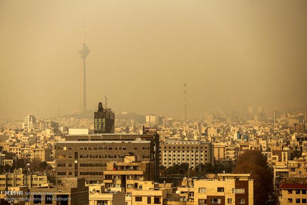 آلودگی هوای تهران تا سهروز آینده بیشتر میشود