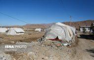فوت ۴ نفر در مناطق زلزله زده بر اثر سرمازدگی
