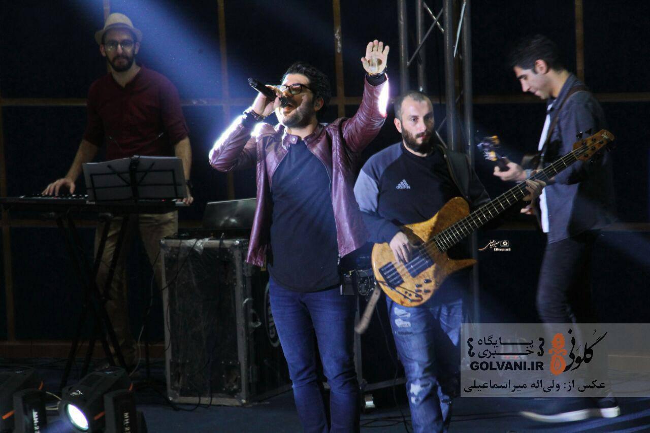 گزارش تصویری از کنسرت حامد همایون در خرمآباد