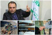 کشف ۸قبضه سلاح شکاری توسط یگان حفاظت محیطزیست استان قزوین