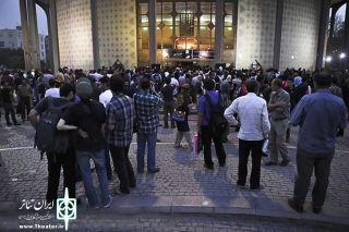 دانشجویان به استقبال جشنواره تئاتر فجر آمدند