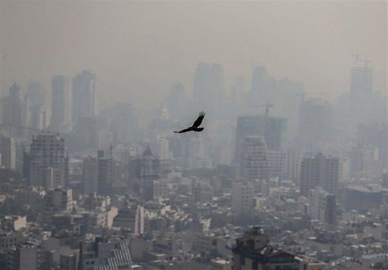 هوای خطرناک در پنج کلانشهر کشور