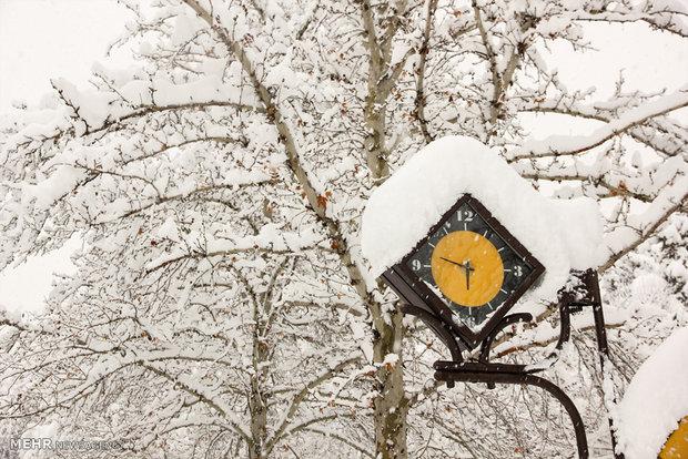 برف دو روزه هوای تهران را پاک کرد
