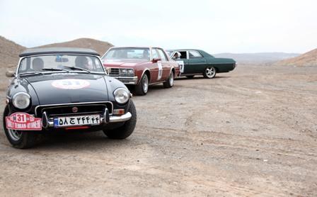 رالی گردشگری خانوادگی تهران ـ ابیانه ویژه خودروهای تاریخی