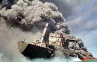 دوربینهای صداوسیما کجا بودند وقتی نفتکش ایرانی آتش گرفت؟!