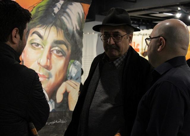 ابراهیم حقیقی: تلاش شده تاریخ طراحی اعلان و پوسترهای سینمایی فراموش شود