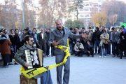 مجموعهای از نمایشهای خیابانی سراسر ایران