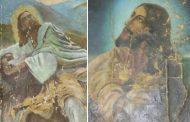 مرمت تابلوهای نقاشی شمایل حضرت مسیح(ع) در موزه بزرگ خراسان