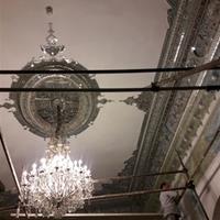 پروژه رنگآمیزی کاخ سبز سعدآباد آغاز شد