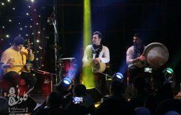 گزارش تصویری از کنسرت موسیقی گلریزان در خرمآباد