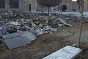 نامه شهرداری تهران به اوقاف برای توقف تخریب قبور قدیمی امامزاده عبدالله