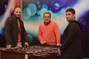 شروعی با حضور قهرمانان ایران