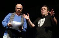 سیامک صفری و امیر کربلاییزاده در یک تئاتر