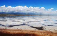 طوفان نمک در انتظار دریاچه نمک قم+رادیو گُلوَنی