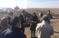 کارشناسان ژاپنی از سایت پسماند محمدآباد بازدید کردند